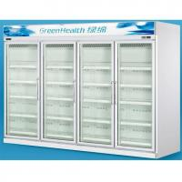 China Grocery 0 - 10°C Glass Door Freezers Frost Free With Copeland Compressor wholesale