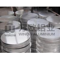 China 100 Recyclable Blank Aluminum Discs , Aluminium Round Discs For Deep Draw Pot wholesale