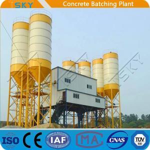 China TSKY MS3000 Mixer 4x20m3 Stationary Batching Plant wholesale