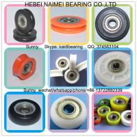 China customized plastic window rollers with bearings U groove pulley wholesale