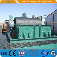 China Conveyor Pulley Motorized Driving Pulley Drum With Rubber Lagging DIN, AFNOR, FEM, BS, JIS, SANS, CEMA wholesale