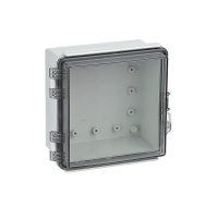 China Universal IP67 Hinged Electrical Enclosures Plastic Watertight Junction Boxes wholesale