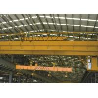 China Electric Traveling Overhead Crane Bridge Crane with Carrier Beam Spreader Clamp for Sale wholesale