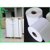 China Tear Resistant Polyethylene PE Coated Paper For Adhesive Sticker Waterproof wholesale