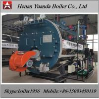 China Industrial Fire tube 1 ton 2 ton  3 ton Diesel Oil / heavy oil Fired Steam Boiler wholesale