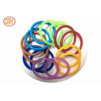 Buy cheap AS568 Waterproof NBR O Ring Rubber , Colored Orings Excellent Air Tightness product