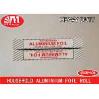 Durable Catering Aluminium Foil Roll 45cm X 14micron X 60m Environmental Protection