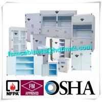 Quality Anti Corrosive Hazardous Storage Cabinets Polypropylene For Chemical Medicine for sale