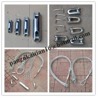 China Diameter 10-20mm Cable grips,Cable Socks,length 1000mm Pulling grip wholesale