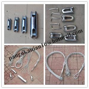 China Non-conductive cable sock,Fiber optic cable sock,Pulling grip,Cable Pulling Sock wholesale