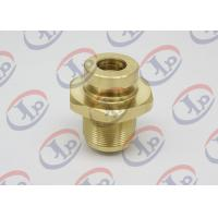 CNC Precision Components With Internal / External Thread , Brass Fasteners For Air Pump