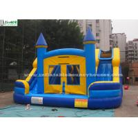 China Commercial Kids Water Inflatable Bounce Houses With Slides N Pool wholesale
