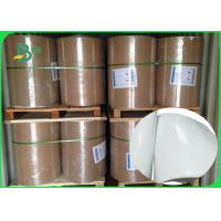 China Shiny Offset Glossy Coated Paper / Couche Paper 90GSM 100GSM Size 90 * 64CM wholesale