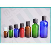 Color Coated Glass Bottles With Screw Cap And Orifice Reducer For Essential Oil