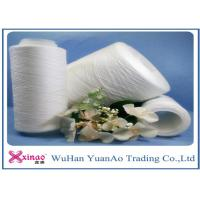 China 20s/6  Raw White Material Polyester  Spun Sewing Thread , 100% Polyester Yarn wholesale