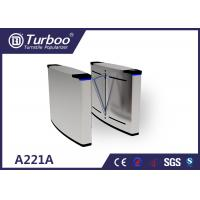 China Smart Flap Barrier Turnstile Guide Pedestrians Correct And Smooth Passage wholesale