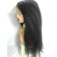 China 300% Human Hair Lace Front Wigs wholesale
