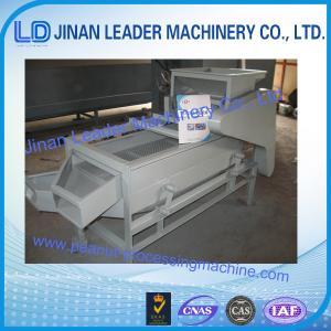 China high capacity 300-400kg/h almond shelling machine for almond, hazelnut, zizyphus jujube wholesale
