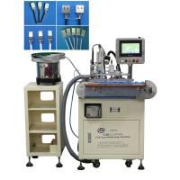 China Fully Automatic Usb Cable Making Tin Soldering Machine 90 Degree Soldering Angle wholesale