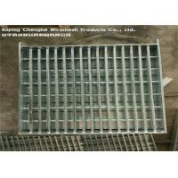China Flat Bar Galvanised Heavy Duty Steel Grating Manul Welding For Airports wholesale