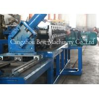 China Drywall Metal U Track Frame Roll Foring Machine 3KW 2 Years Warranty wholesale