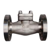 China RF Forged Steel Check Valve 2 Inch Piston Check Valves Class 150 ASTM A182 F316L on sale