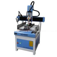 China 3D CNC Metal Engraving Machine 4 Axis with DSP A18 Control UG-6060 wholesale