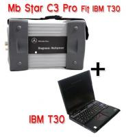 Quality Mercedes Diagnostic Tool MB STAR C3 With IBM T30 laptop For Mercedes Car , Bus , Sprint , Smart for sale