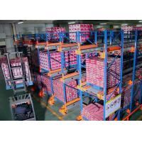 China FIFO Warehouse Selective Adjustable Steel Radio Shuttle Shelving wholesale