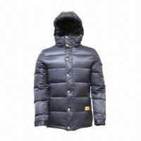 China Unisex Down Jacket, Warm in Cold Weather, Winter Jacket, Men's Down Jacket, Waterproof, Breathable  wholesale