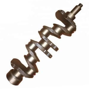 Casting Iron Diesel Engine Crankshaft NPR 4BC2 For Isuzu 5123101610
