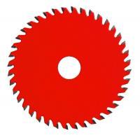 China Red Carbide Steel TCT Saw Blade Cut Off , Sharpening Circular Saw Blades For Wood wholesale