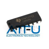 China DC Gain Blocks Audio Power Amplifier IC / Low Power Quad Operational Amplifiers LM324N wholesale