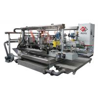 China Glass Grinding Machine For Glass Arc R Angle Double Edger / Round Corner on sale