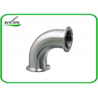 China Stainless Steel Sanitary Pipe Fittings Bends Pipe Fitting High Pressure Resistant wholesale