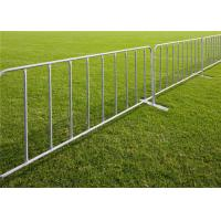 Buy cheap metal outdoor events pipe security galvanized or pvc coated customized crowd from wholesalers