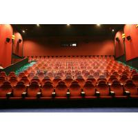 China Dynamic 3D Theater motion chairs with pneumatic / hydraulic / Electrical system for adults cinema wholesale