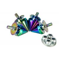 Quality Neo Chrome Quick Release Fasteners Hardness High Precision For Car Bumpers for sale
