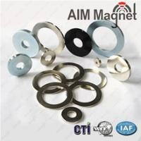 China Industrial Good Quality Permanent Radial Neodymium Small Ring Magnets D17xd12.6x4mm wholesale