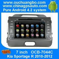 China Ouchuangbo Car GPS Radio Player Bluetooth AUX RDS Kia Sportage R 2010-2012 Android 4.2 DVD Stereo System OCB-7044C on sale