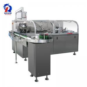 China 220/380V Box Packing Machine , Automatic Carton Machine Connect With Blister Machine wholesale