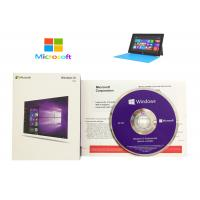 Quality Microsoft Windows 10 Product Key Sticker DVD COA License Professional pro WIN for sale