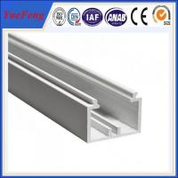 China YueFeng china factory white powder coated aluminium channel price per kg wholesale