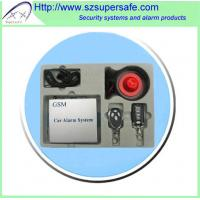 China GSM/GPRS Car Alarm System wholesale