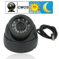 "China Dome 1/4"" CMOS CCTV Surveillance TF Card DVR Camera Home Office Hidden Security Monitor Digital Video Recorder wholesale"