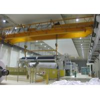 Buy cheap Electromagnetic Double Beam Bridge Crane With Magnet Lift Chunk  / Spreader from wholesalers