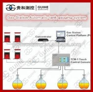 China Diesel fuel tank monitoring system level sensor , Tank gauge ATG gasoline level probe transmitter for petrol station on sale