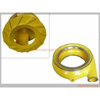 China Red Yellow Color Horizontal Slurry Pump Parts Of Centrifugal Pump Long Lifespan wholesale