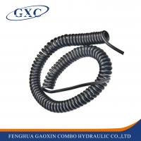 China PUC3/8-15 Length 15M Customized Pneumatic Hose Of Polyurethane Telescopic Spring Coil Tube wholesale