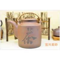 China Purple Grit Antique Yixing Teapot , Yi Shing Teapot SGS Certification 1000ML wholesale